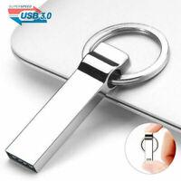 32GB USB 3.0 Flash Drive Memory Pen Stick Mini Metal Storage U Disk for Laptop