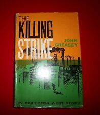 JOHN CREASEY - THE KILLING STRIKE FIRST EDITION / 1ST PRINTING W/ DJ 1958
