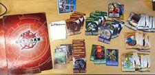 Bakugan Battle Brawlers 50+ CARDS LOT with 2 BINDERS Dragon