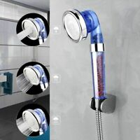 High Turbo Pressure Shower Head Bathroom Powerful Energy Water Saving Filter US