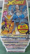 X-Force 1991 #1-129 missing only 1 issue to Complete Serie Set vf bagged