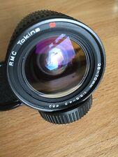 Tokina RMC MC 28-70mm f/3.5-4.5 Olympus OM ajuste macro lente de menta