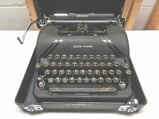 Vintage SMITH CORONA Sterling Floating Shift Portable Manual Typewriter~Works!