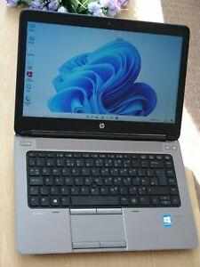 "Hp ProBook 645 G1 (Black) 14"" Laptop with New Windows 11 (2021 year)"