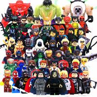 Lego  Marvel Avengers Minifigures Iron Man Thanos Venom Super Heroes DC Blocks