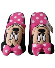 Disney Minnie Mouse Costume Plush Doll Toys Fancy Shoes Indoor Slippers One Size