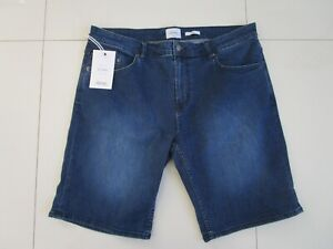 Riders Men's R3 Relaxed Fit Bronx Blue Straight Leg Stretch Shorts Size: 38