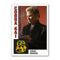 Cobra Kai THREE-PACK 1984 Style Trading Card Replicas - Daniel / Johnny / Kreese