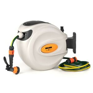Holman 20m Retractable Hose Reel With Spray Gun SYD
