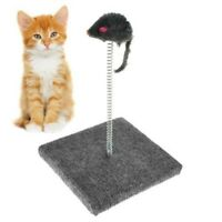 Cat Kitten Catch The Mouse Spring Toy Interactive Amusement Scratching Claw Play