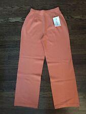 NWT St John Collection knit pants w/ pleats size 2 $495