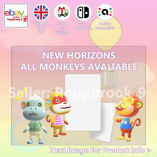 Tutte le scimmie Animal Crossing Custom NFC Amiibo SCHEDA COMPATIBILE NUOVI ORIZZONTI ACN