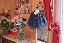 JUPE REPETTO NEUVE  12  ans  bleu crepuscule froufrou