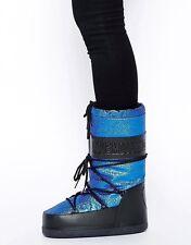 LOVE Moschino Metallic Moon Snow Ski Boot