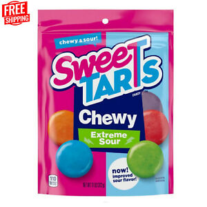 SweeTarts Extreme Sour Chewy CaNdy Bag 11 Oz