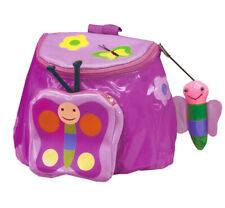 Nwt Kidorable Children's Butterfly Backpack / Lunch Bag