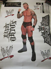 WWE WRESTLER RANDY ORTON FATHEAD LARGE REUSABLE VINYL WALL GRAPHICS,NEW