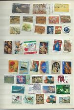 Australia stamps. Stock page of used (T007)