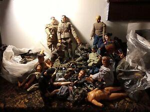 "GI Joe Style DRAGON  Assorted Lot 1/6 Figures, 12"" WW2, SamuraI, MASSIVE EXTRAS"