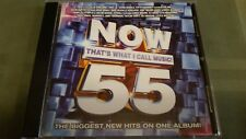 NOW THAT'S WHAT I CALL MUSIC #55 CD U.S. SERIES VERY GOOD CONDITION
