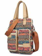 Kinmac New Bohemian Vertical Style Laptop Shoulder Bag for 11 Inch 12 Inch 13...