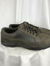 Rockport Mens 12D Brown Leather Walking/Casual Sneakers