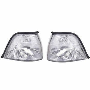 Front Indicator Turn Signal Clear Corner Light For BMW 3 Series E36 Sedan M3 ST