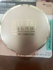 Milani Even-Touch Powder Foundation Oil-Free, 03 Natural