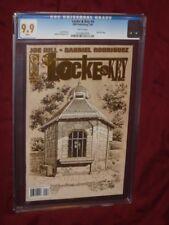Locke & Key #4 CGC 9.9  1st print     Joe Hill