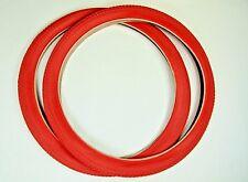 Red Beach Cruiser Tire 26X2.125 / Red Kenda K927W (PAIR)