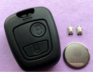 Fit Toyota AYGO 2 Button Remote Key Fob Case Shell Full Repair Refurbishment Kit