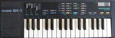 Casio SK-1 Classic Mini Sampling Synthesizer Keyboard, Vintage 1985 Sampler