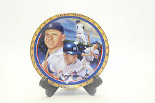 Mickey Mantle Limited Edition NY Yankees 1961 Home Run Dule Hamilton Plate