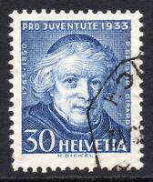 Switzerland 30 Cent Stamp c1933 Used (1012)