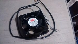 "Dayton 2RTE1 Square Axial Fan, 4-11/16"" Width, 4-11/16"" Height, 230VAC Volt"