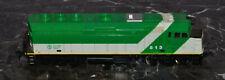 HO Gauge Train Diesel Locomotive Engine Canadian GO Transit Green & White 513