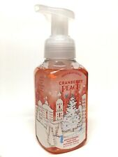 1 BATH & BODY WORKS CRANBERRY PEACH GENTLE FOAMING HAND SOAP WASH 8.75 OZ SHEA