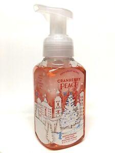 1 BATH & BODY WORKS CRANBERRY PEACH GENTLE FOAMING HAND SOAP WASH 8.75 OZ SHEA