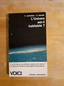 L'Univers est-il habitable - Jackson & Moore - Voici Science-Information (1963)