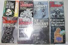 8 vintage HPL H P Lovecraft pbs: Lurker, Watchers, Tomb, Dream-Quest etc