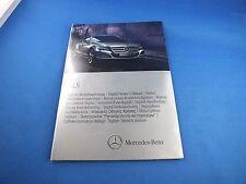 Original Mercedes CLS-clase 2012 digital manual de instrucciones de CD 2185842781 w218
