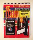 Vintage 1990's International Secret Police Miniature Toy Gun with Projectiles