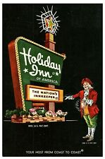 Holiday Inn Hotel The Nation's Inn Keeper Bloomington IL Posted 1965 Posted