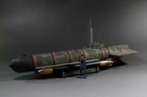 1/30 ww2 German submarine U-boat Molch Camouflage version S003