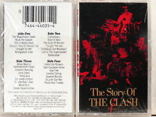 THE CLASH - Story Of Vol. < 1988 US 1st Issue 2 x Cassette > FACTORY SEALED