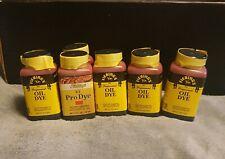 Fiebings Red Oil Dye set of 6 bottles