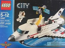 °LEGO CITY 2011 SPACE SHUTTLE #3367 COMPLETE