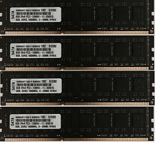 32GB  (4 X 8GB) DDR3 NON ECC UNBUFFERED DESKTOP MEMORY FOR DELL OPTIPLEX 9020