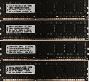 32GB  (4 X 8GB) DDR3 NON ECC UNBUFFERED DESKTOP MEMORY FOR DELL OPTIPLEX 9020