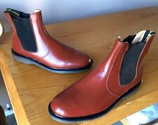 55099f486e6 Vintage Dr Martens 2976 brown leather chelsea boots UK 7 EU 41 Made in  England